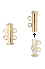 <b>Multistrand Clasp ( 2 strands )</b><br><i>pkg 4 pcs</i>