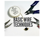 <b>Basic Wire Wrap Techniques</b> (English-Spanish)