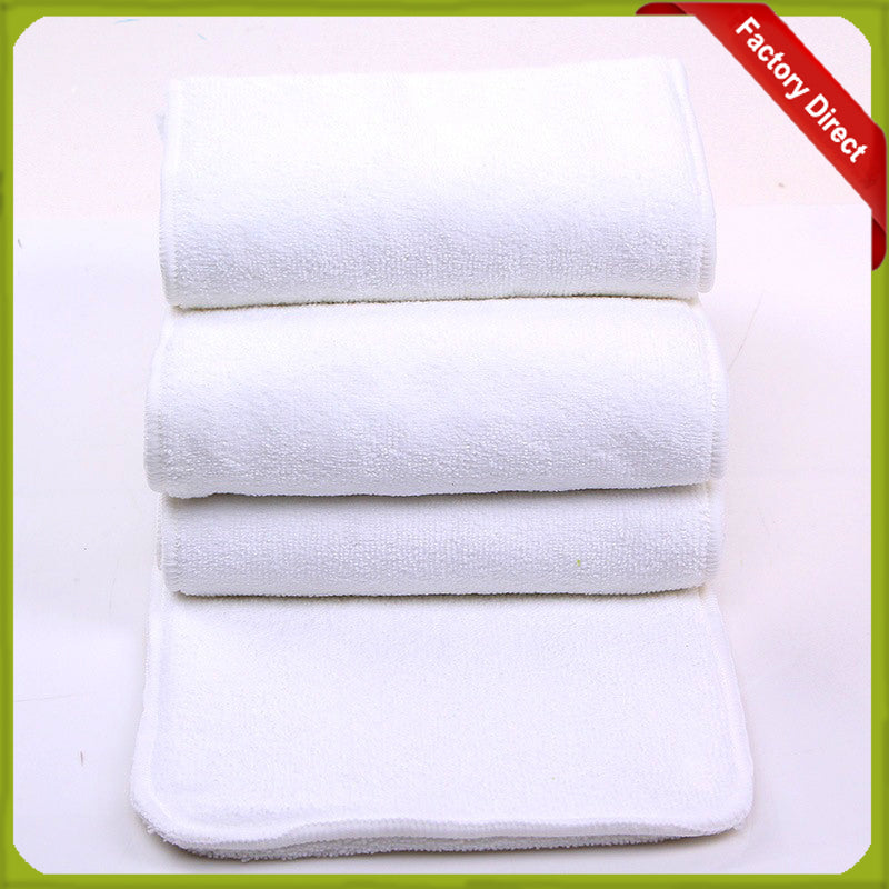Re-Usable Cloth Diapers Inserts Easy Use Soft Breathable Nappy Liners