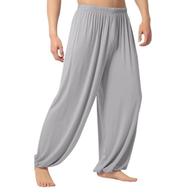 Men's joggers pants Casual sweatpants Solid Color Baggy Trousers Belly