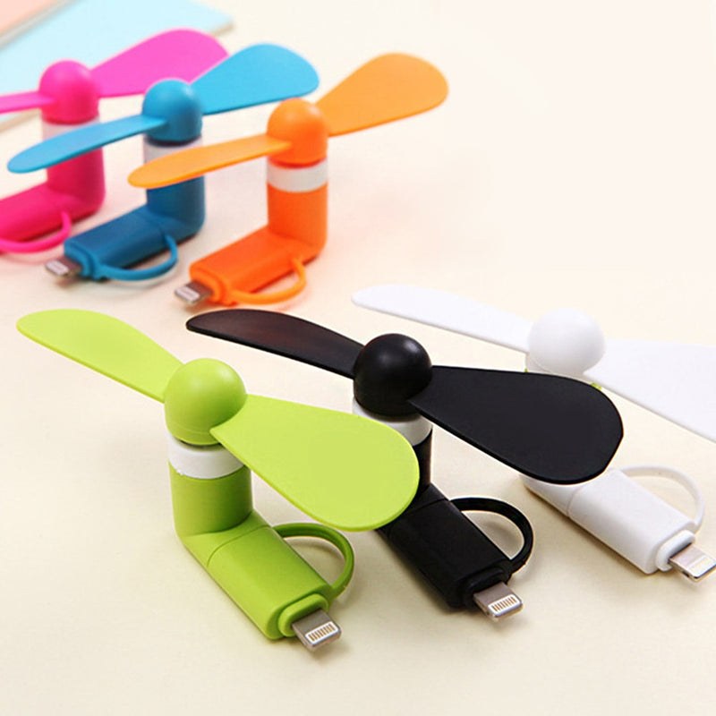 Portable 5V Mini USB Fans Cooler Hand Phone Cooling Fan