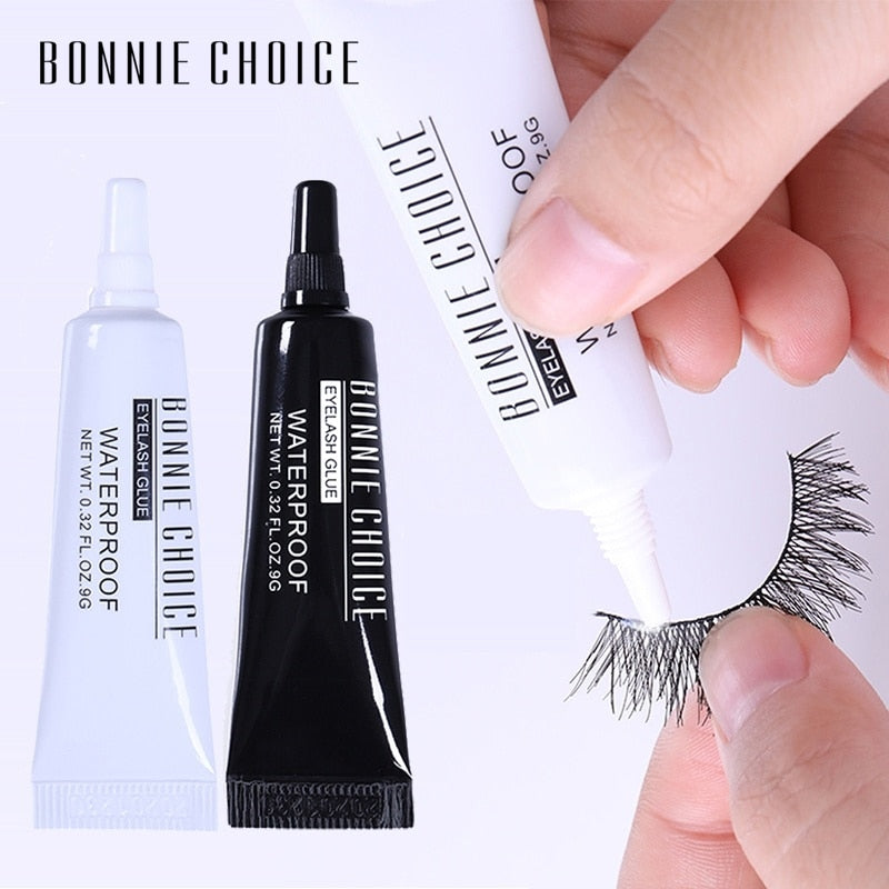 BONNIE CHOICE False Eyelash Glue Eye Lash Curler Tweezers For False