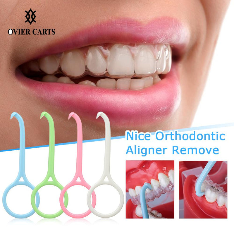 Removable Braces Clear Aligner Removal Tool Plastic Nice Orthodontic Aligner Remove Invisible