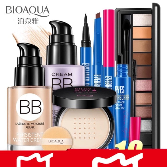 7PcsBIOAQUA Makeup Set Lowest Price Beautiful Gift