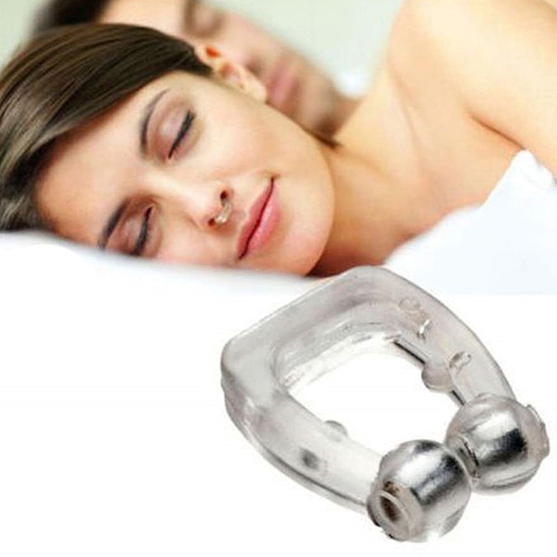 Reusable Safe Anti Snore Clip Breathe Smooth Portable