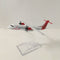 JASON TUTU Plane Model Airplane Model 16cm Columbia Airlines