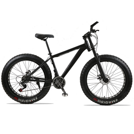 wolf's fang Mountain Bike bicycle fat bike 21 speed Aluminum alloy frame 26 inch mtb road beach Snow bikes Man bmx Free shipping