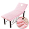 Pure Color Massage Table Bed Fitted Sheet Elastic Full Cover Rubber