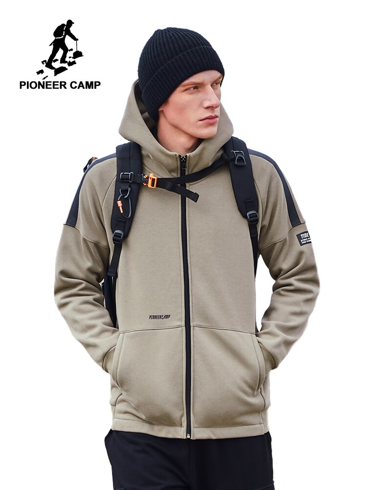 Pioneer Camp 2020 Mens Jackets and Coats Winter Warm Fleece Thick