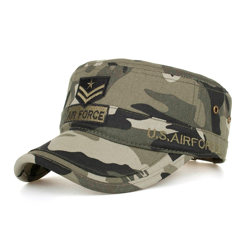 Men's Women's Classic Men Military Caps Adjustable Army Camouflage