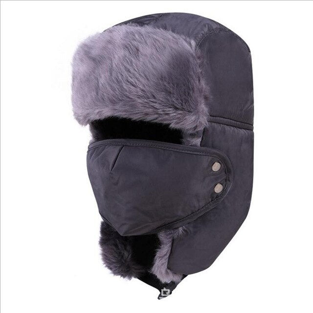 2019 new winter men's and women's fashion earmuffs plus velvet
