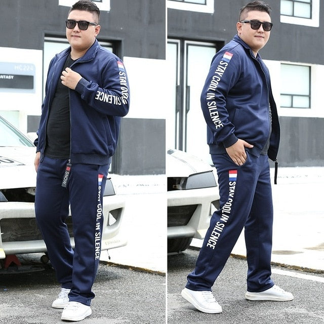 Varsanol New Men Sets Fashion Autumn Spring Sporting Suit