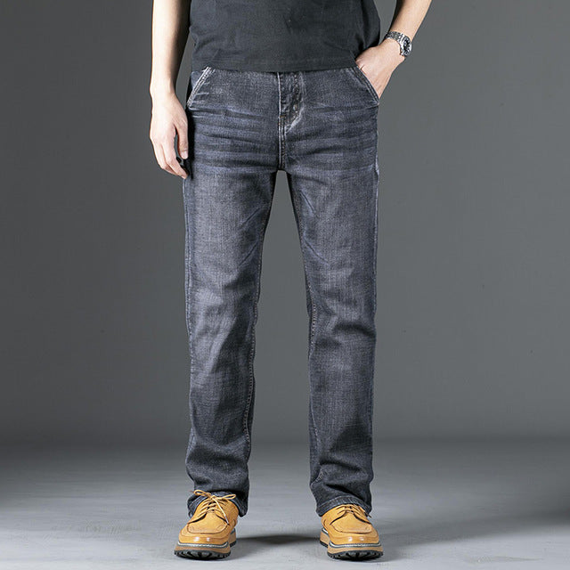 Male Jeans Men Men'S Jean Homme Denim Baggy Pants Trousers - Any.shopping