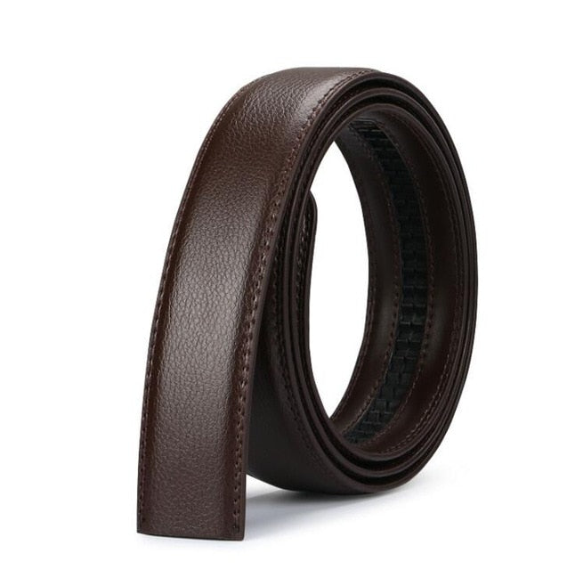men's automatic buckle belts No Buckle Belt Brand Belt Men