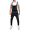Fashion Men's Ripped Jeans Jumpsuits Hi Street Distressed Denim Bib