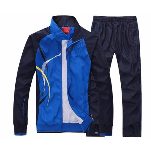 XIYOUNIAO new Men's Set Spring Autumn Men Sportswear 2 Piece Set