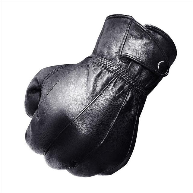 2020 New Arrival Man Driving Gloves Fashion Fleece Lining Man Short