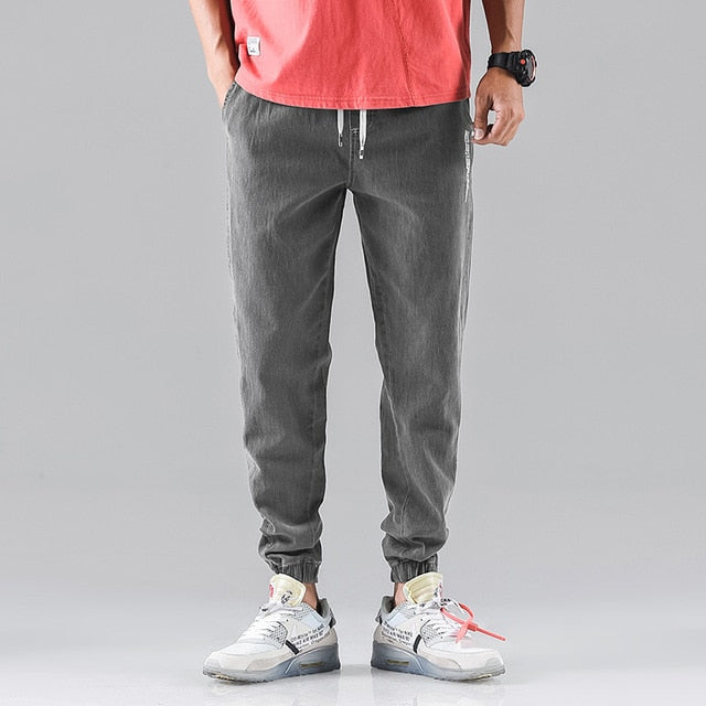 Wbson Jeans Men's Casual Pants Jogging Pants Work Jeans Loose Pants - Any.shopping