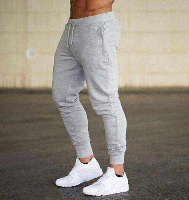 New Spring Autumn Brand Gyms Men Joggers Sweatpants Men's