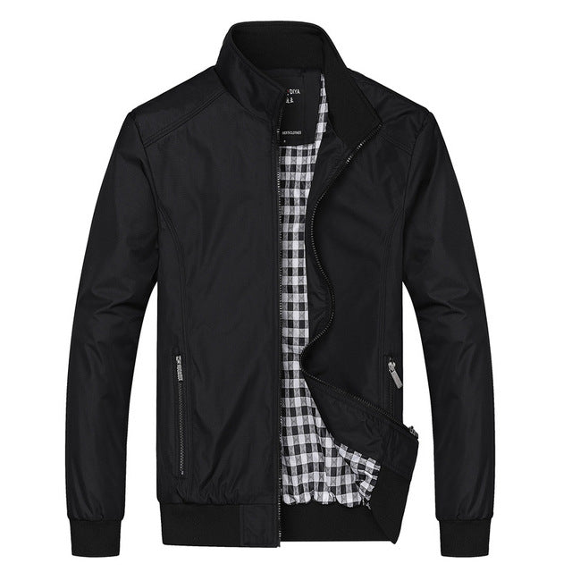 Brand Clothes Bomber Jackets Men Solid Casual Jacket Male 2020
