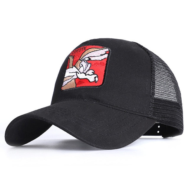 New Animals Donald Duck Embroidery Men's Baseball Cap Women