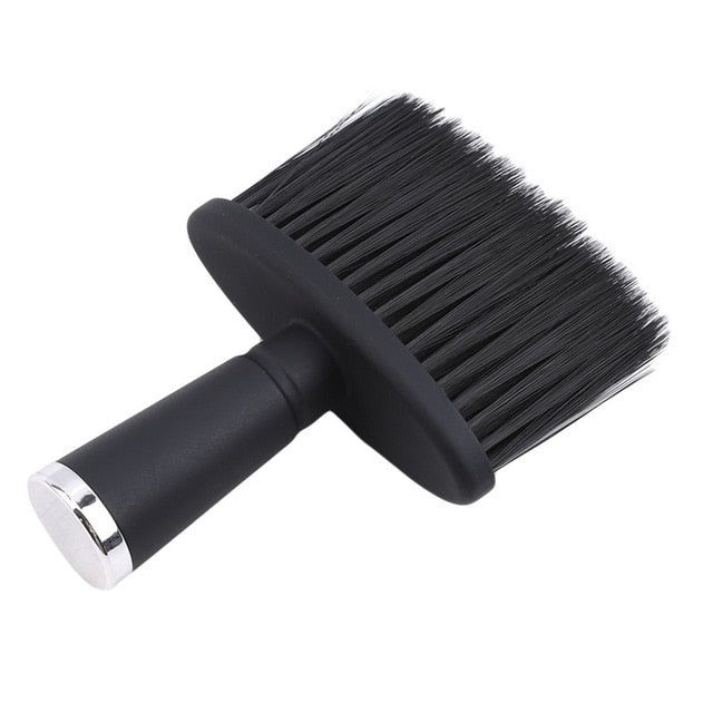 Professional Soft Black Neck Face Duster Brushes Barber Hair Clean