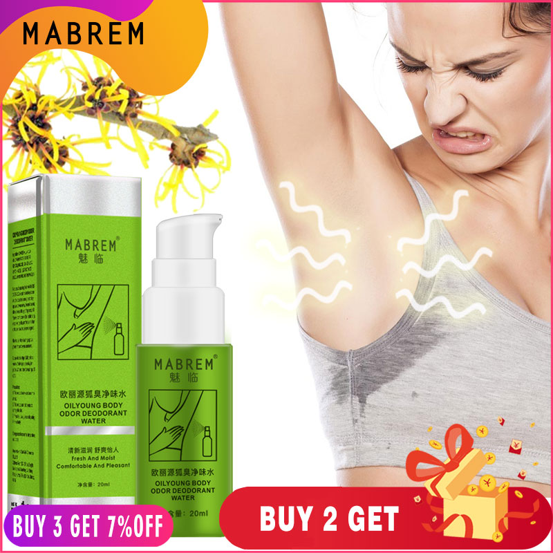 MABREM Body Odor Sweat Deodor Perfume Spray For Man and Woman Removes