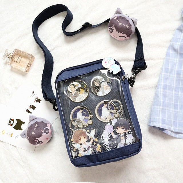 Soft Sister Harajuku Japanese Lolita Transparent Small Itabag