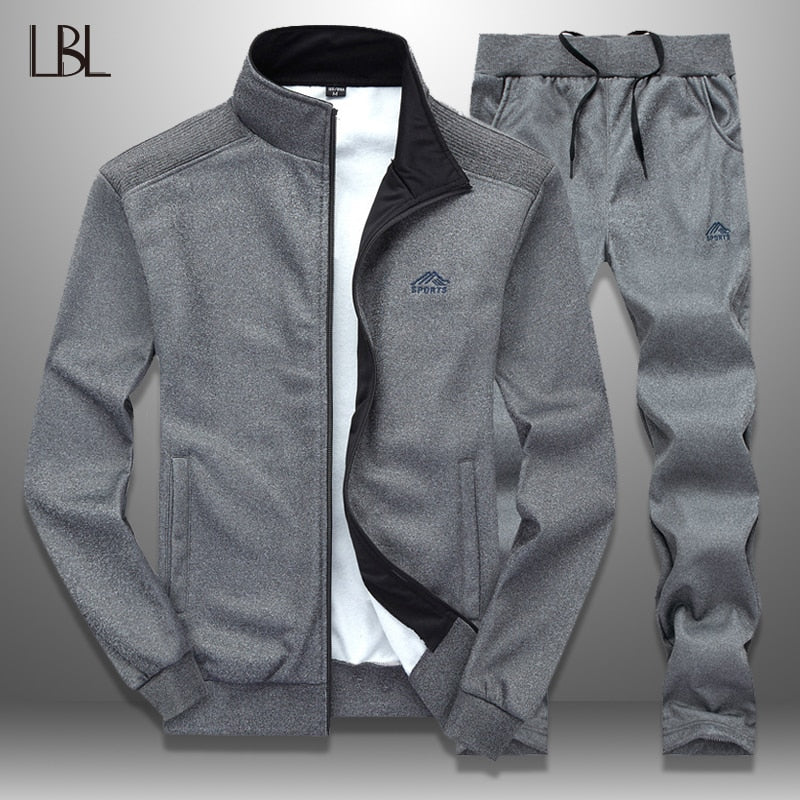 LBL Sportswear Tracksuit Men Spring Autumn Mens Track Suits 2019