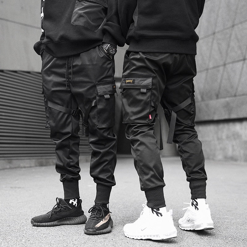 Men Ankle Banded Pants Male Tide Brand Function Tactic Paratroopers - Any.shopping