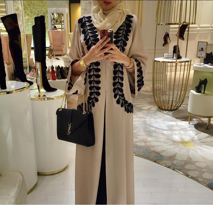 Muslim Dress Abaya Dubai Caftan Dress Islamic Clothing Turkish Arabic