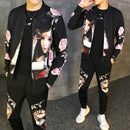 Tracksuit Male Tracksuit Asian Size Moda Hombre 2020 New Men's Set