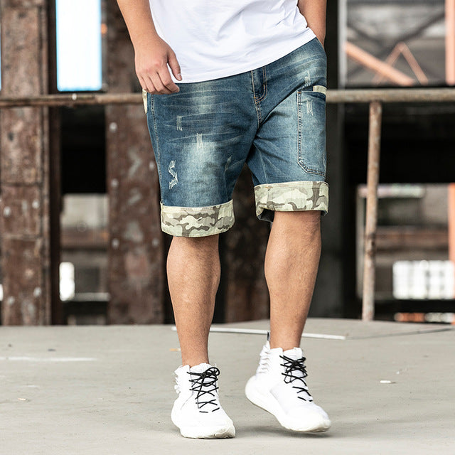 2020 New jeans Mens Casual Shorts Pants Plus 28-48 Size Cool Juventus - Any.shopping