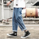 2020 new fashion men's jeans brand hip hop autumn torn men's solid - Any.shopping