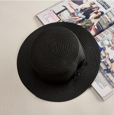 2019 simple Summer Parent-child Beach Hat Female Casual Panama Hat - Any.shopping