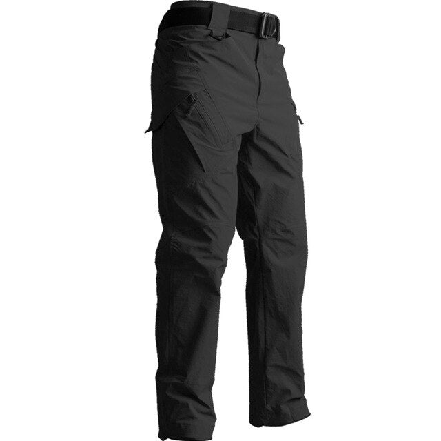 Summer IX9 tactical trousers men's ultra-thin breathable army fan