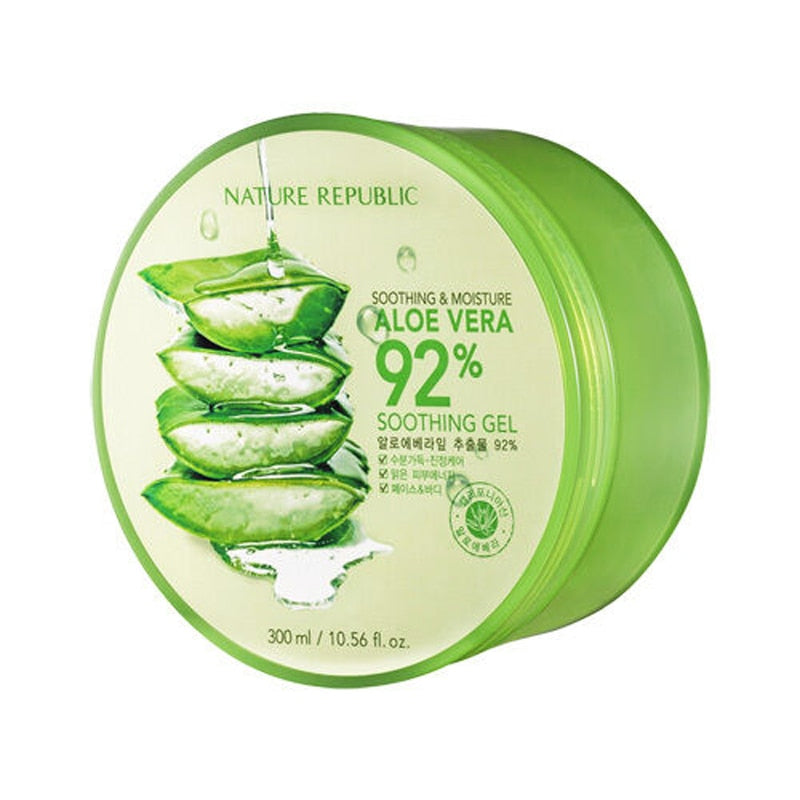 Original NATURE REPUBLIC Soothing Moisture Aloe Vera 92% Soothing