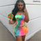 2019 Women Summer Sexy Sleeveless Slip Bodycon Dress Female