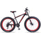 "wolf's fang Mountain bike bicycle aluminum frame 7/21/24 speed mechanical brakes 26 ""x 4.0 wheels long fork Fat Bikes road bike"