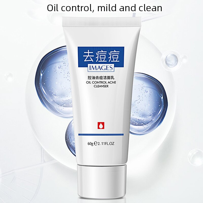 Oil Control Acne Cleansing Lotion Moisturizing Gentle Facial Cleanser
