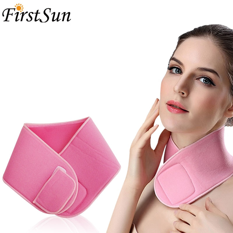 Reusable Gel Spa Neck Mask Moisturizing Nourishing Silicone Care Neck Pad Neck Tape Wrinkle Remove Tighten Neck Lift Skin Care