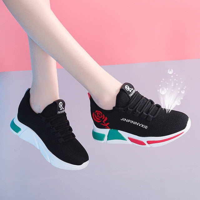 Spring Women casual shoes Breathable
