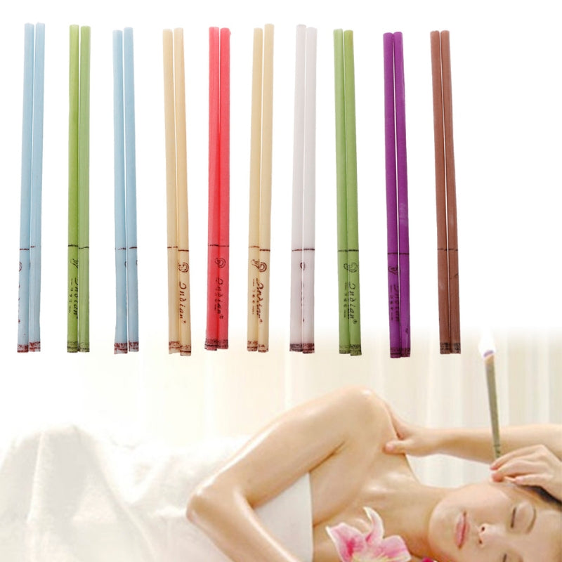 10Pcs/Set Ear Cleaner Wax Removal Ear Candles Treatment Care Healthy