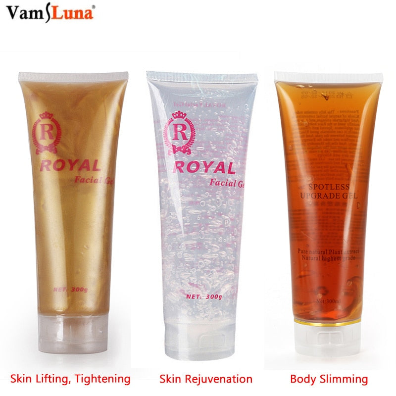 300ml Ultrasonic RF 3 Kinds Safe Moisturizing Cream Gel For Massager