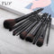 FLD 10pcs Professional Face Powder Lip Liner Eye Eyeliner Brushes Set