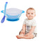 Baby Learning Dishes With Suction Cup Kids Safety Dinnerware Set