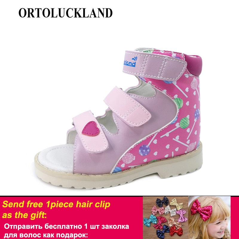 Ortoluckland Baby Shoes Orthopedic Shoes For Children Girls Dance