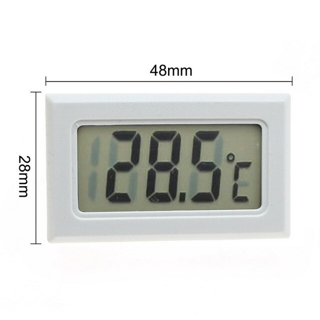Digital Thermometer Hygrometer Indoor Outdoor Temperature