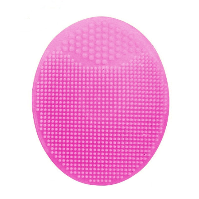 6 Color Silicone Beauty Washing Pad Facial Exfoliating Blackhead Face