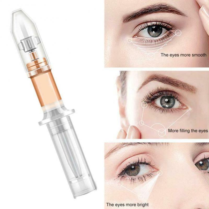 1Pc Rapid Instantly Eye Bag Removal Cream Long Lasting Effect Puffiness Wrinkles Fine Lines Eye Delight Boost Serum Cream TSLM1